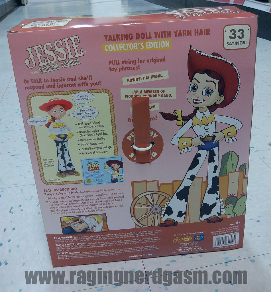 Pixar's Toy story Collection FiguresJessie Yodeling cowgirl_12