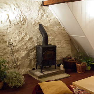 リビング 暖炉ストーブ