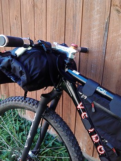 Voodoo Bokor 29er in bikepacking mode