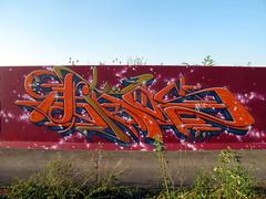 Lakeside graffiti