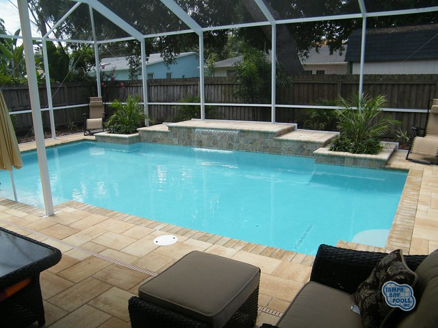 Tampa bay pools custom swimming pool designs scupper for Pool design tampa florida
