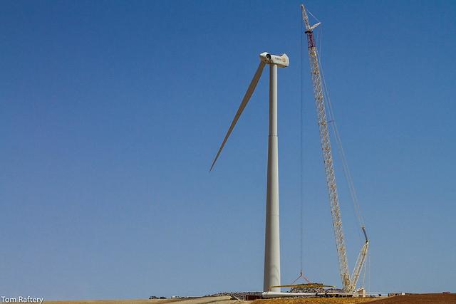 Building a wind turbine