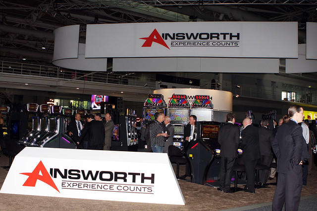 ainsworth gaming logos e