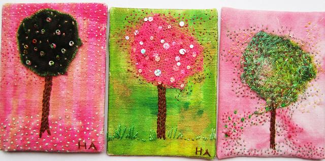 3 trees - tre träd