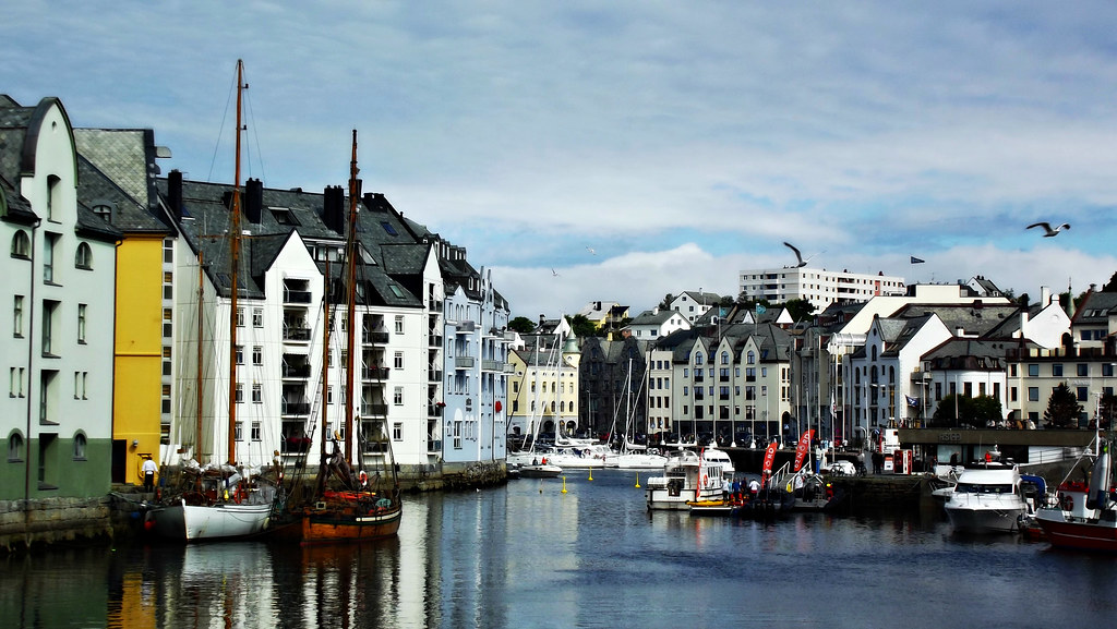 Alesund - view from the bridge