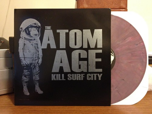 The Atom Age - Kill Surf City LP - Purple Vinyl (/300) by Tim PopKid