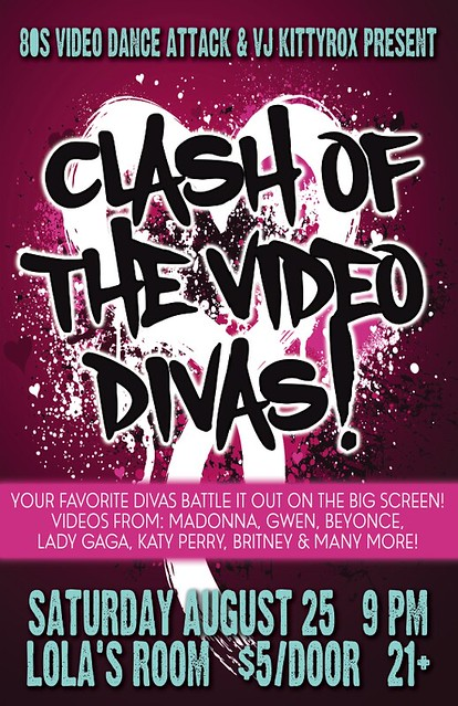 Clash of the Video Divas @ Lola's Room