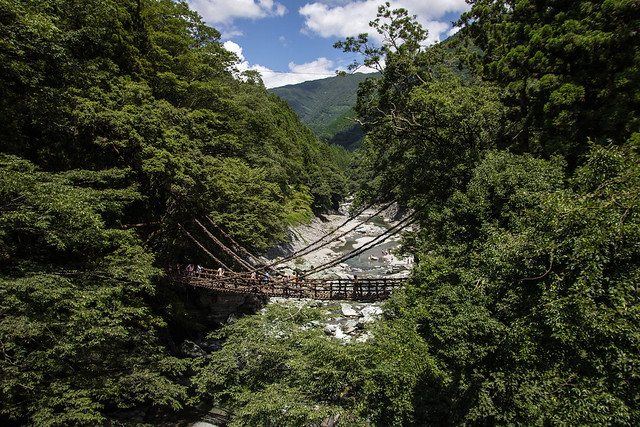Kazurabashi Bridge, Iya Valley