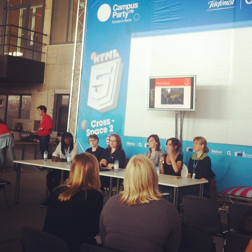 The Rails Girls Berlin among who @fraulea at #cpeurope