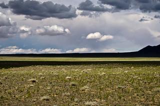 Gobi desert Landscape shadows