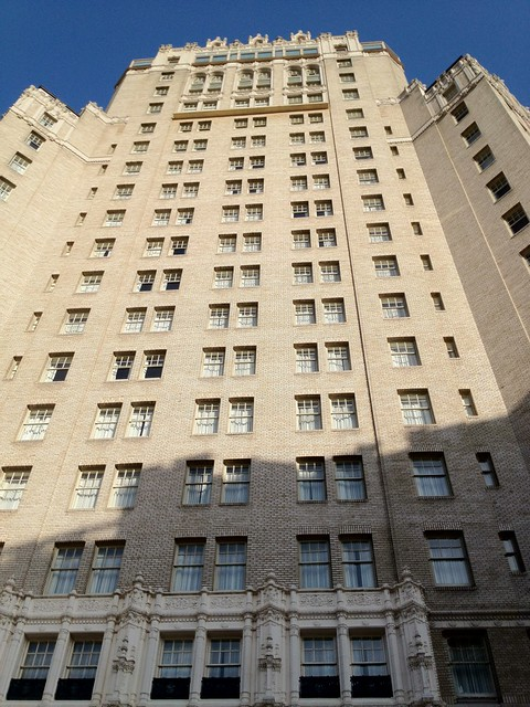 The front of the Mark Hopkins Intercontinental