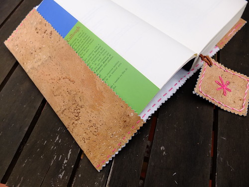 Cork fabric Book cover