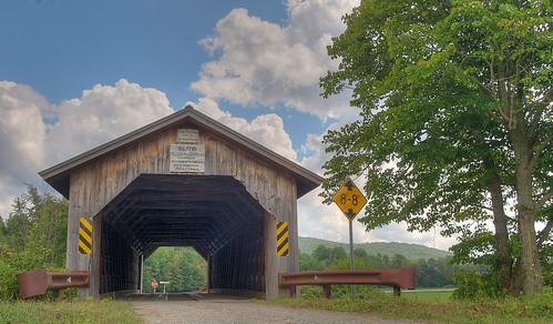 Hopkins Covered Bridge by jcbwalsh