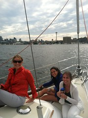 Girls Day Out on Lake Union, Seattle, Wash.