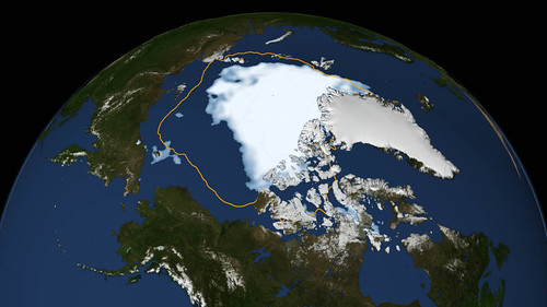 Arctic Sea Ice low
