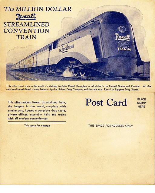Rexall train 1936 (Wikimedia commons)