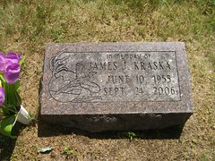 Location of headstone: St. Mary's Calvary Cemetery Section B