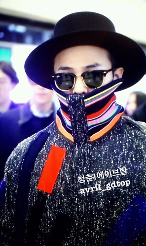 Big Bang - Gimpo Airport - 15jan2015 - G-Dragon - Avril - 03
