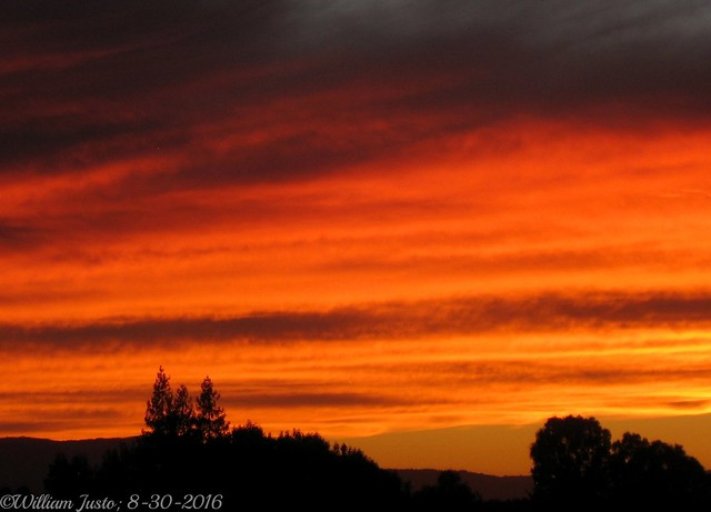 Another Dazzling, Late-Summer Sunset, Canon POWERSHOT SD1100 IS