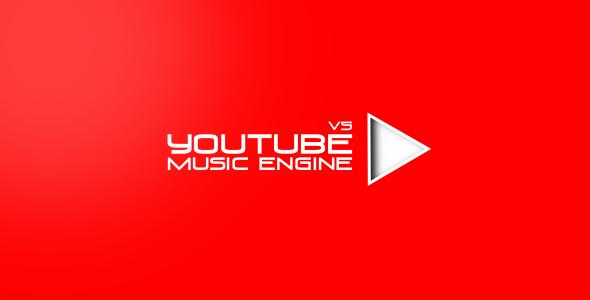 CodeCanyon Youtube Music Engine v5.8.8