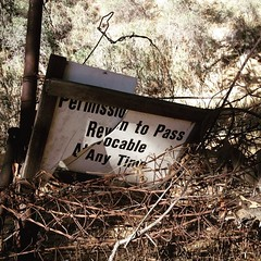 Revoked. #permissiontopass #revocable #redrock #topanga #topangacanyon #hiking