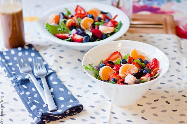 Summer Citrus & Berry Salad