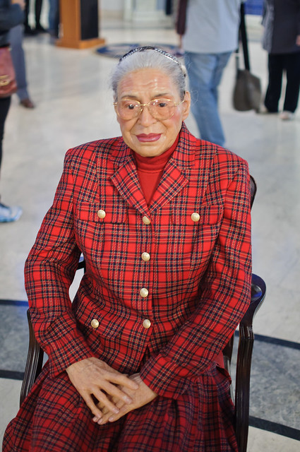 Rosa Parks at Madame Tussaud's New York | Flickr - Photo ...