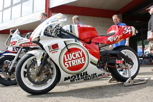 Suzuki RG500, ex-Kevin Schwantz
