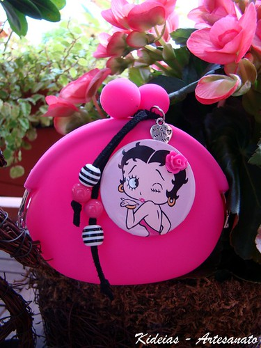 Porta Moedas - Betty Boop by kideias - Artesanato