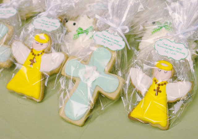 Photo of Macaron Pops and Decorated Cookies by John Manansala