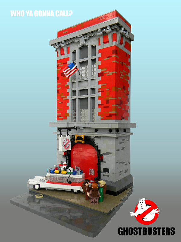 Ghostbuster's firehouse!