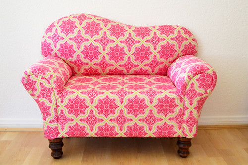 Mini Couch After Upholstery