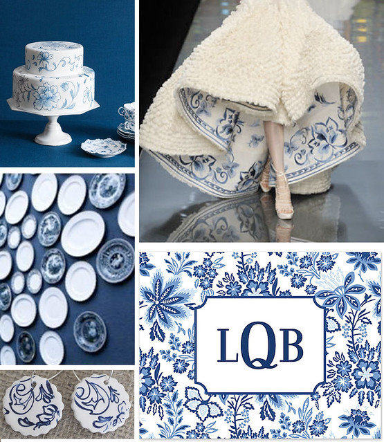 Trend Spotting: Blue Porcelain
