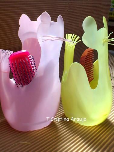 reciclando embalagens de amaciante by gata arteira by cris
