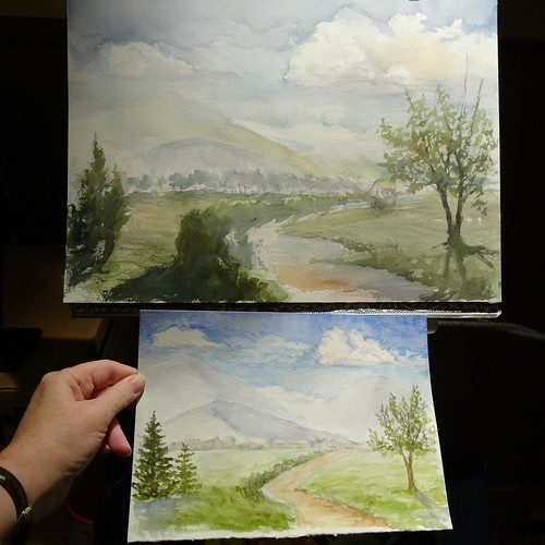 Watercolor Class results