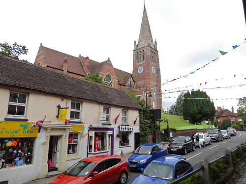 The church in Lyndhurst