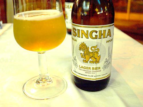 Thai Singha Beer
