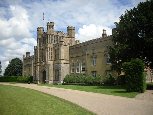 Coughton Court, front