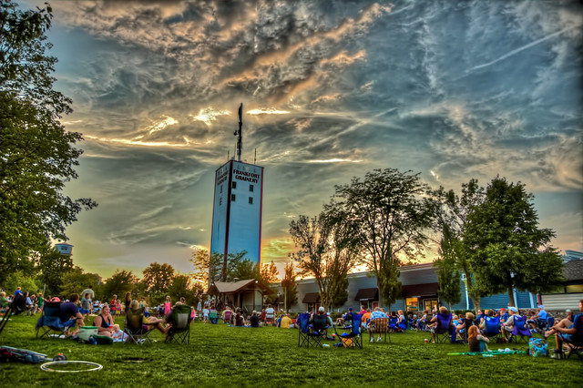 Frankfort Illinois Concert On The Green 2012 Flickr