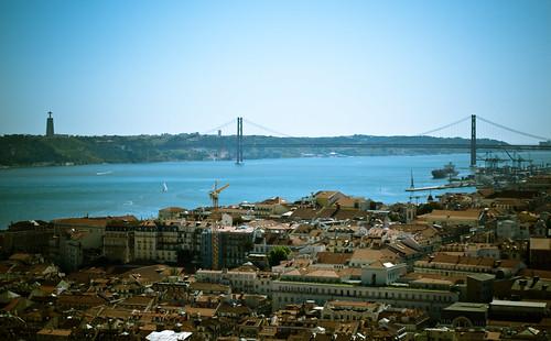Lisboa desde el Castillo de San Jorge by treboada