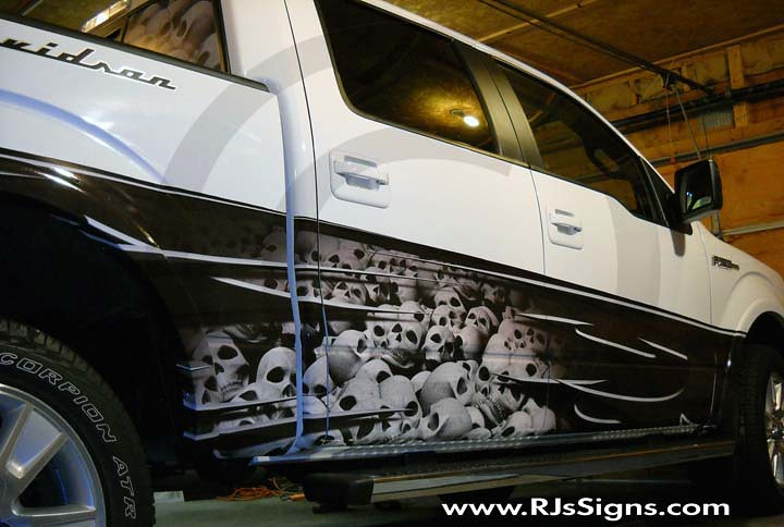 Vinyl Sign Vehicle Graphics