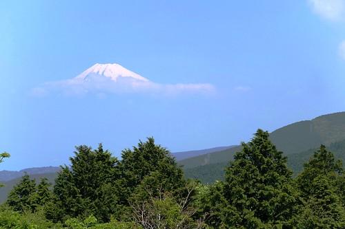Mt. Fuji in the sky