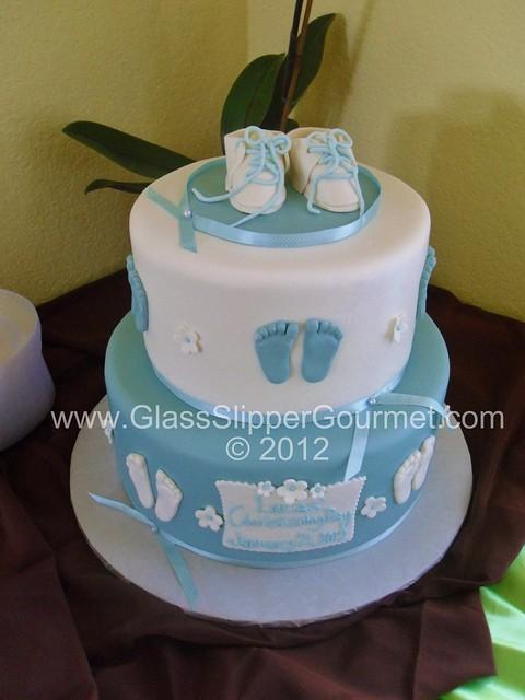 Cake Decorating Baby Feet : Lucas  baby feet christening cake - 01212012.5gsg Flickr ...