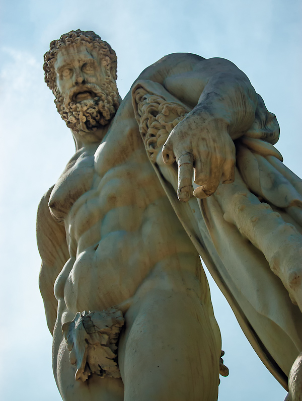 Versailles Gardens - lonely Hercules