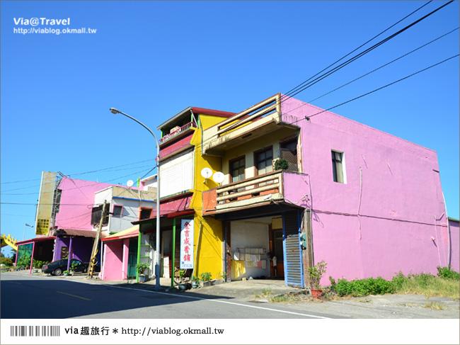 【台東新景點】台東大武彩虹街~全台最夢幻的彩色街弄!10