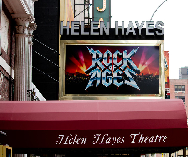 rock of ages helen hayes theatre on broadway rock of. Black Bedroom Furniture Sets. Home Design Ideas