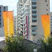 Flags in the Olympic Village