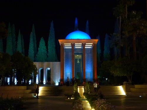 The Tomb of the Persian poet, Saadi Shirazi, Sheikh Mosleh al-Din