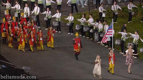 Kontinjen Malaysia di Olimpik 2012