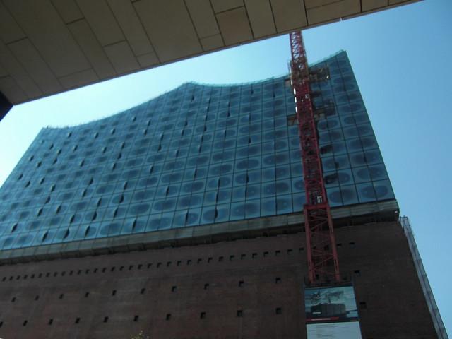 Baustellenbesichtigung der Elbphilharmonie